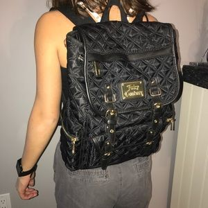 Black, high-end back pack! Super cute!